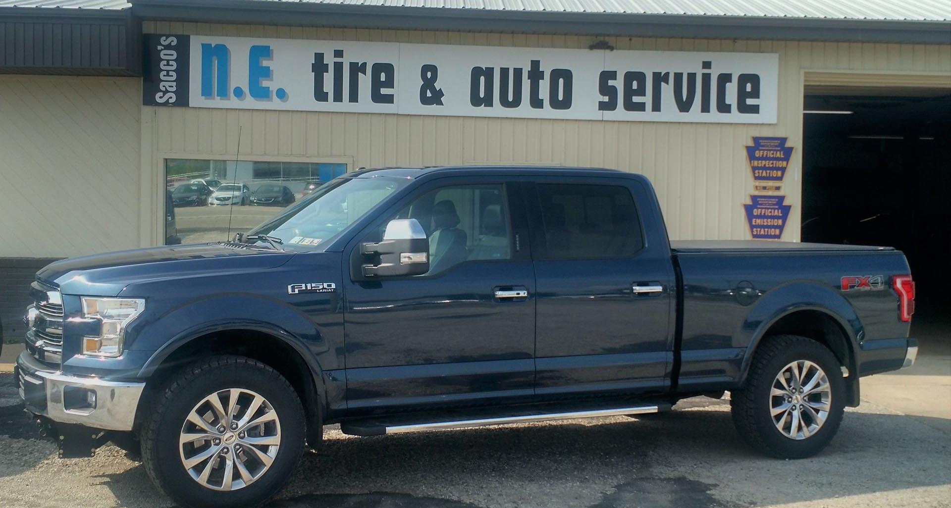 saccos tire service near erie pa